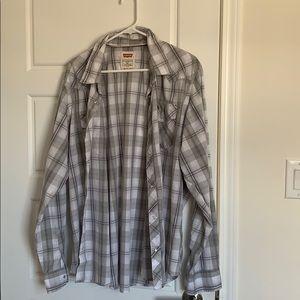 Levis Pear Snap Button Down Shirt